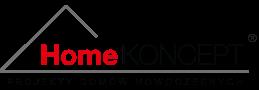 HomeKONCEPT projekty domów nowoczesnych logo